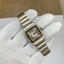 Cartier Santos Galbée new 2000 Quartz Watch with original box and original papers 1567