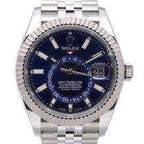 Rolex Sky-Dweller Steel 42mm Blue No numerals United Kingdom, Radlett
