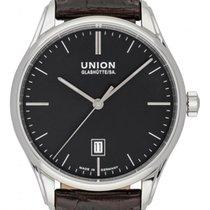 Union Glashütte Viro Date D011.407.16.051.00 New Steel 41mm Automatic