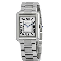 Cartier Tank Solo Steel 24mm Silver Roman numerals United States of America, New York, New York