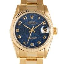 Rolex Lady-Datejust Oro amarillo 31mm Azul
