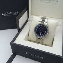 Louis Erard Otel 40mm Atomat Louis Erard HERITAGE SPORT Date Full Steel Blue Dial 40mm folosit