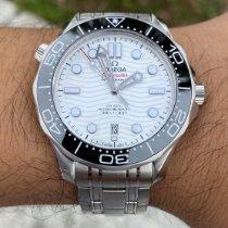 Omega Seamaster Diver 300 M Сталь 42mm Белый
