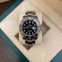 Rolex Sea-Dweller 4000 Acier 43mm Noir Sans chiffres
