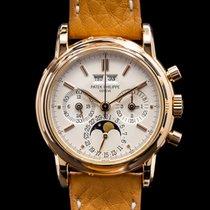 Patek Philippe 3970R Or rose Perpetual Calendar Chronograph 36mm
