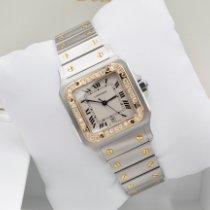 Cartier Santos Galbée Gold/Steel 29mm White Roman numerals United States of America, New York, New York