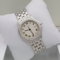 Cartier Cougar Steel 33mm White Roman numerals United States of America, New York, New York