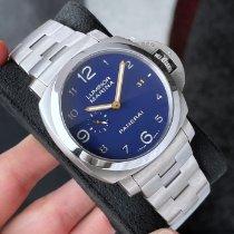 Panerai Luminor Marina 1950 3 Days Titanium 44mm Blue Arabic numerals United States of America, Wisconsin, La Crosse