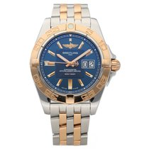 Breitling Galactic 41 Gold/Steel 41mm Blue No numerals United States of America, Florida, Sarasota