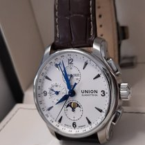 Union Glashütte Belisar Chronograph D002.425.16.037.00 Foarte bună Otel 43mm Atomat România, Arad