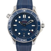 Omega Seamaster Diver 300 M Steel 42mm Blue No numerals UAE, Dubai