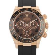 Rolex Daytona Rose gold 40mm Brown Arabic numerals United States of America, Pennsylvania, Southampton