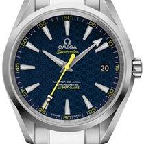 Omega Seamaster Aqua Terra Steel 41.5mm Blue United States of America, California, Moorpark
