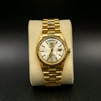 Rolex Day-Date 36 Oro giallo 36mm Argento Senza numeri Italia, Monte San Pietro