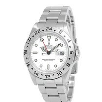 Rolex 16570 Steel 2000 Explorer II 40mm pre-owned United States of America, New York, Hartsdale