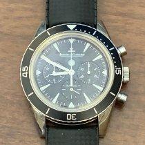 Jaeger-LeCoultre Deep Sea Chronograph Acero 42mm Negro Sin cifras