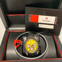 Tudor Fastrider Chrono Acero 42mm Amarillo Sin cifras
