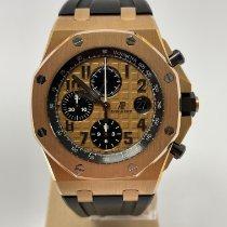 Audemars Piguet Roodgoud Automatisch Goud Arabisch 42mm tweedehands Royal Oak Offshore Chronograph