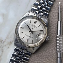 Rolex Datejust Staal 36mm Zilver Geen cijfers Nederland, Naarden