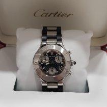 Cartier Steel 38mm Quartz 2424 pre-owned