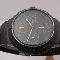 IWC Aluminum Automatic Black No numerals 41mm pre-owned Porsche Design