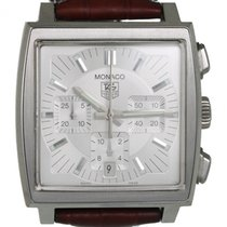 TAG Heuer Monaco pre-owned Leather