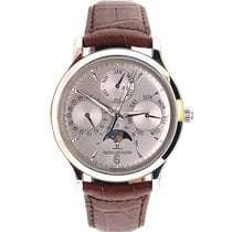Jaeger-LeCoultre White gold Automatic Silver 37mm pre-owned Master Control