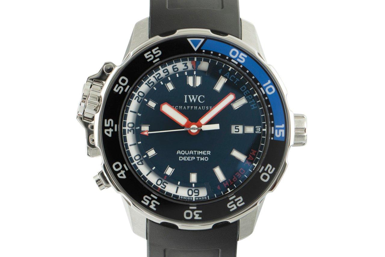 IWC Aquatimer Deep Two 3547 2011 usados