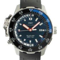 IWC Aquatimer Deep Two Acero 47.5mm Negro