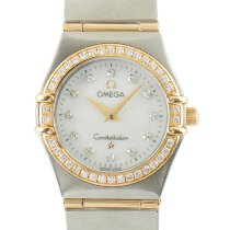 Omega Constellation Ladies Gold/Steel 25mm Mother of pearl