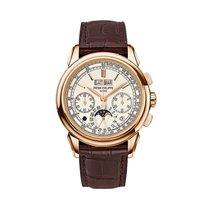 Patek Philippe Perpetual Calendar Chronograph Oro rosa 41mm Blanco Sin cifras