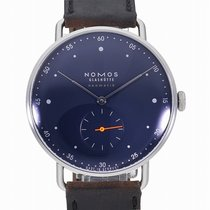NOMOS Metro Neomatik new Automatic Watch with original box and original papers MT130014BL239 / 1115