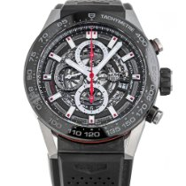 TAG Heuer Carrera Calibre HEUER 01 Steel 45mm Black No numerals United States of America, Maryland, Baltimore, MD