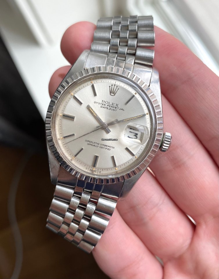 Rolex Datejust 1603 1970 pre-owned