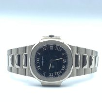 Patek Philippe 3800/1A-001 White gold 2000 Nautilus 37mm pre-owned