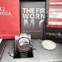 Omega Speedmaster Professional Moonwatch Steel 42mm Black No numerals New Zealand, Christchurch