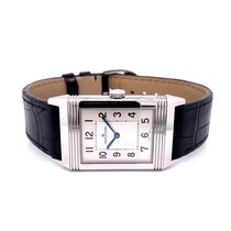 Jaeger-LeCoultre Grande Reverso Ultra Thin Steel 48.5mm Silver Arabic numerals United States of America, California, Beverly Hills