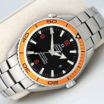 Omega Seamaster Planet Ocean Steel Black Arabic numerals United Kingdom, Glasgow