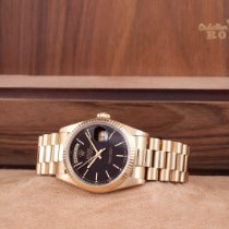 Rolex 18238 Yellow gold 1990 Day-Date 36 36mm pre-owned United States of America, California, Los Angeles