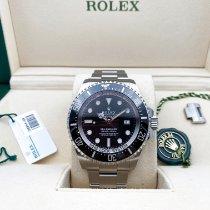 Rolex Sea-Dweller Deepsea Steel 44mm Black No numerals New Zealand, Christchurch