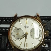 Heuer Yellow gold 34mm Manual winding 3645 pre-owned Canada, Montreal