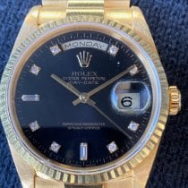 Rolex 18238 Yellow gold 2002 Day-Date 36 36mm pre-owned United States of America, California, Irvine