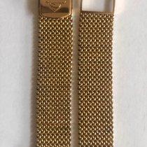 Longines Gold Milanese Muy bueno 18mm España, 28232