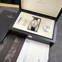 Patek Philippe Белое золото Автоподзавод Цвета шампань Aрабские 40mm подержанные Perpetual Calendar