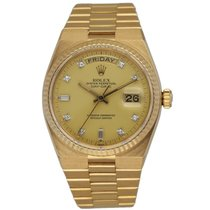 Rolex Day-Date Oysterquartz Yellow gold 36mm Champagne United States of America, New York, New York