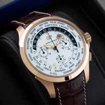 Girard Perregaux Traveller Rose gold 44mm White United States of America, New Jersey, Englewood