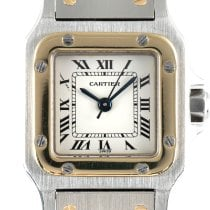 Cartier Gold/Steel 23.5mm Automatic 93098 pre-owned