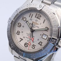 Breitling A32350 Steel 2006 Colt GMT 40mm pre-owned