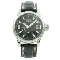 Jaeger-LeCoultre Master Compressor GMT Steel 41mm Black United States of America, Indiana, Carmel
