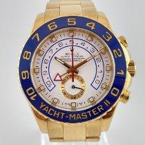 Rolex Yacht-Master II Geelgoud 44mm Wit Geen cijfers Nederland, Kerkrade